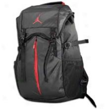 Jordan Takeover Backpack - Black/black/gym Red
