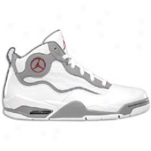 Jordan Tc - Menns - White/varsity Red/stealth