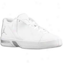 Jordan Te Iii - Little Kid s- White/metallic Soft and clear