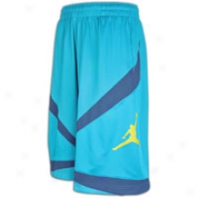 Jordan Triangle Triumph Lacking - Mens - Current Blue/green Abyss/electrolime