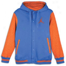 Jordan Varsity Hoodie - Mens - Varsity Royal/team Orange