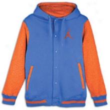 Jordan Varsity Hoodie - Mens - Varsity Royal/team Orange