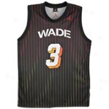 Jordan Wade On Fire Jersey - Mens - Black/varsity Red/varsity Red