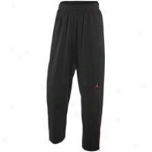 Jordan Wade Attached Fire Pant - Mens - Black/vtsity Red/varsity Red