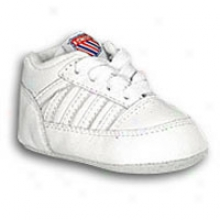 K-swiss Crib 5-stripe - Infants - Whitd