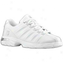 K-swiss Dechane - Mens - White/silver