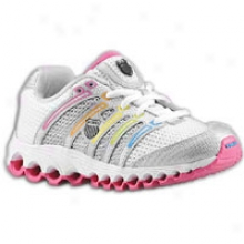 K-swiss Tubes 100 Mesh - Little Kids - White/silver/multi
