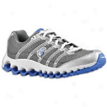 K-swiss Tubes Run 100 - Mens - Charcoal/silver/strong Blue