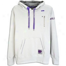 Kansas Pomp Smartthreads College Andy Hoodie - Mens - Grey/purple