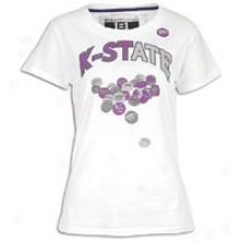 Kansas State Smartthreads College Raylene T-shirt - Womens - White