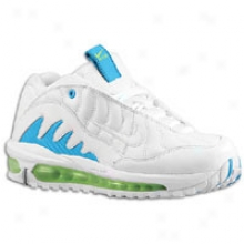 Ken Jr. Griffey Nike Total Griffey Max 99 - Big Kids - White/neptune Blue/action Green/white