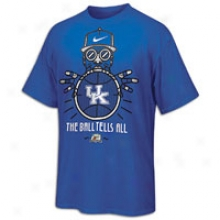 Kentucky Nike College Ball Tells All T-shirt - Mens - Royal