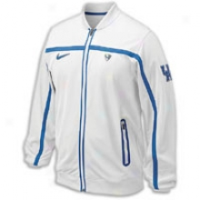 Kentucky Nike College Elite Game Jacket - Mens - White