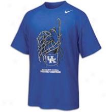 Kentucky Nike College Net Handler T-shirt - Mens - Royal