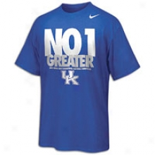 Kentucky Nike College No One Greater T-shirt - Mens - Royal