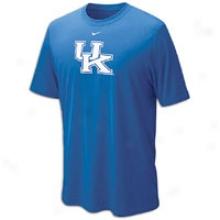 Kentucky Nike Dri-fit Logo Legend T-shirt - Mens - Royal