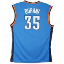 Kevin Durant Adidas Nba Revolution Replica Jersey - Mens - Strong Blue