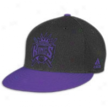 Kings Adidas Nba Vibe Snapback Cardinal's office - Mens - Mourning