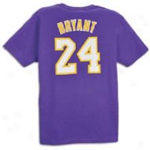 Kobe Bryant Adidas Game Time T-shirt - Mens - Purple