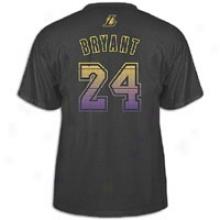 Kobe Bryant Adidas Nba Vibe Jersey Replica T-shirt - Mens - Black
