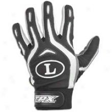 Louisville Slugger Pro Desig nBatting Gloves - Mens - Black/white