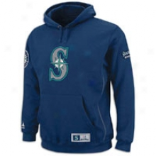 Mariners Majestic Mlb Be Proud Hoodie - Mens - Navy