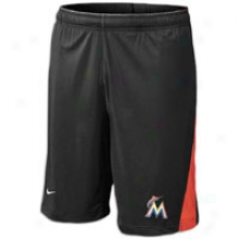 Marlins Nike Mlb Dri-fit Training Short 12 - Mens - Blzck