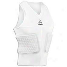 Mcdavid Hexpad V-hex S/l Body Shirt - Mens - White