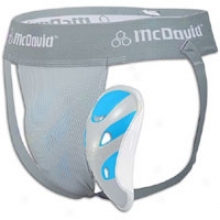 Mcdavid Performance Hexmesh Supporter W Flexcup - Big Kids - Grey