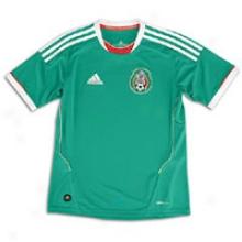 Mexico Adidas Yth National Team Replica Jersey - Big Kids - Green/white
