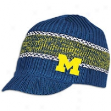 Michigan Adidas College Visor Knit - Mens - Navy