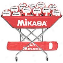 Mikasa Hammock 24 Ball Cart - Scarlet