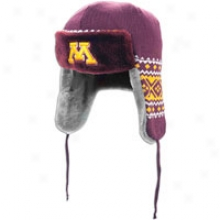 Minnesota Unaccustomed Era Collegeteam Trapper - Mens - Dark Maroon