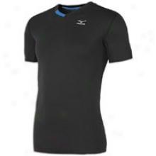 Mizuno Enigma T-shirt - Mens - Black/aizome