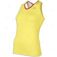 Mizuno Jinx Sport Top - Womens - Lemon/sangria