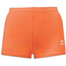 Mizuno Low Rider Short - Womens - Orange