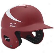 Mizuno Mvp One Size Batters Helmet - Cardinal/white