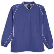 Mizuno Prestige L/s Batting Jersey - Mens - Purple
