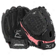 Mizuno Prospect Gpl1210 Fastpitch Glove - Big Kids - Black/pink