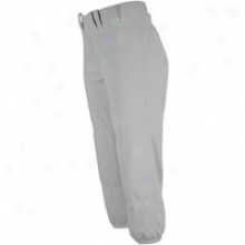 Mizuno Select Belted Fastpitch Pant - Womens - Grey