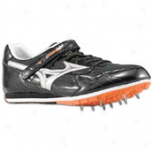 Mizuno Triple Jump/pole Vault - Mens - Anthracite/red Orange