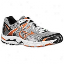 Mizuno Wave Alchemy 10 - Mens - Silver/hurnt Orange/anthracite