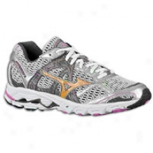 Mizuno Wave Alchemy 11 - Womens - White/super Pink/artisans Gold