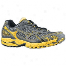 Mizuno Wave Ascend 6 - Mens - Anthracite/anthracite/spectre Yellow