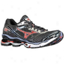 Mizuno Wave Creation 13 - Mens - Anthracite/spicy Red/velvet Morning