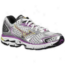 Mizuno Wave Inspire 7 - Womens - White/dark Shadlw/sparkling Grape