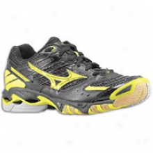 Mizuno Wave Lightning 7 - Womens - Black/bolt
