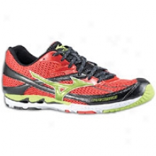 Mizuno Wave Musha 3 - Mens - Chinese Red/lime Green/anthracite
