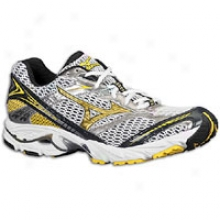 Mizuno Wave Nexus 6 - Mens - White/cyber Yellow/anthracite