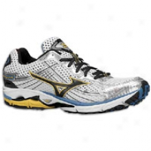 Mizuno Wave Rider 15 - Mens - White/anthracite/aizome